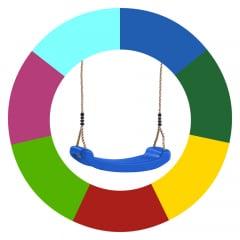 Cambio de color de asientos de columpio